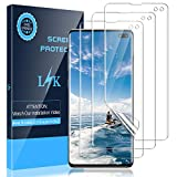 LK [3 Pack] Screen Protector for Samsung Galaxy S10 Plus / S10+, [Ultrasonic Fingerprint Compatible][Flexible Film] HD Clear, Anti-Scratch, Case Friendly