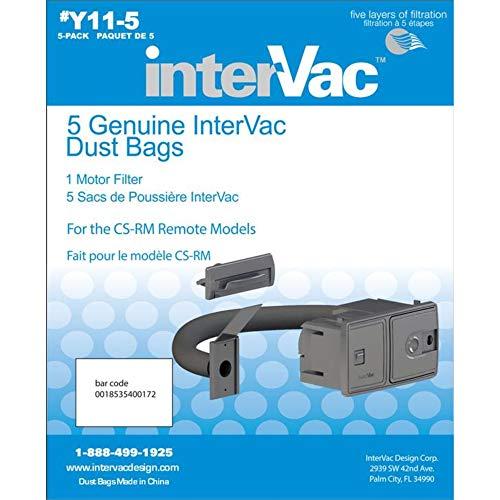 Y11-5 Genuine InterVac Vacuum Cleaner Dust Bags for CSRM Models