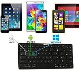 Navitech Clavier Bluetooth français AZERTY Compatible avec Alldaymall Tablette...