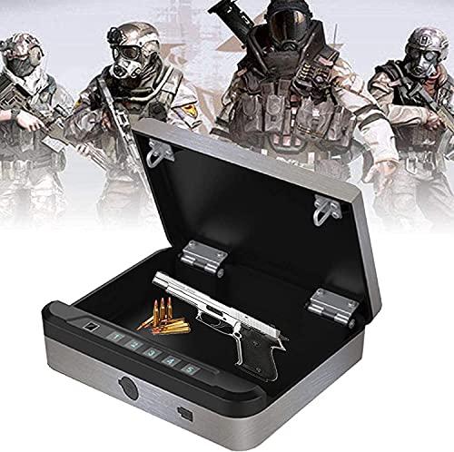 WSVULLD Boîte à coffre d'empreinte digitale biométrique, coffre-fort d'une empreinte digitale, coffres-forts de...
