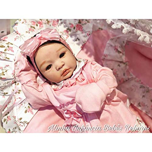 Bebê Reborn Julie Silicone Macio