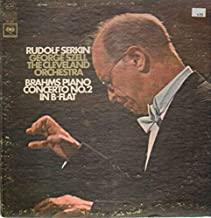 Piano Concerto No. 2 in B-flat (Vinyl) [Vinyl] Brahms; George Szell; Rudolf Serkin and Cleveland Orchestra