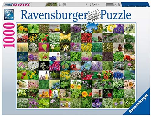 Ravensburger Erwachsenenpuzzle-99 Kräuter Puzzle de 1000 piezas, Multicolor (15991) , color/modelo surtido