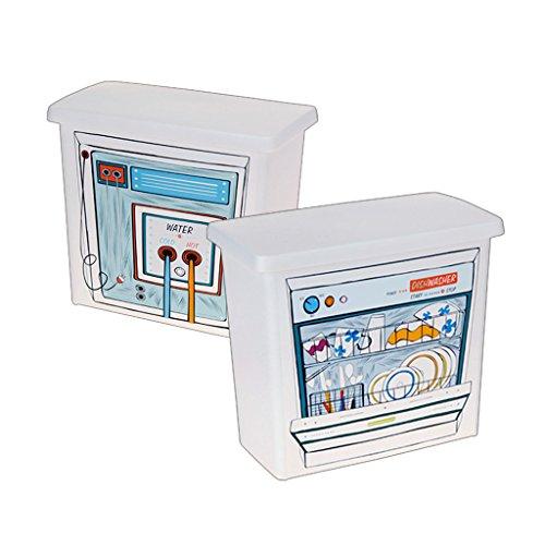 Easybox Laundry Dishwasher Washing Powder Tablet Plastic Storage Box Container
