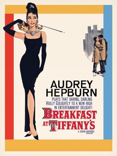 Audrey Hepburn WDC90003 - Lienzo de Audrey Hepburn en Breakfast at Tiffany
