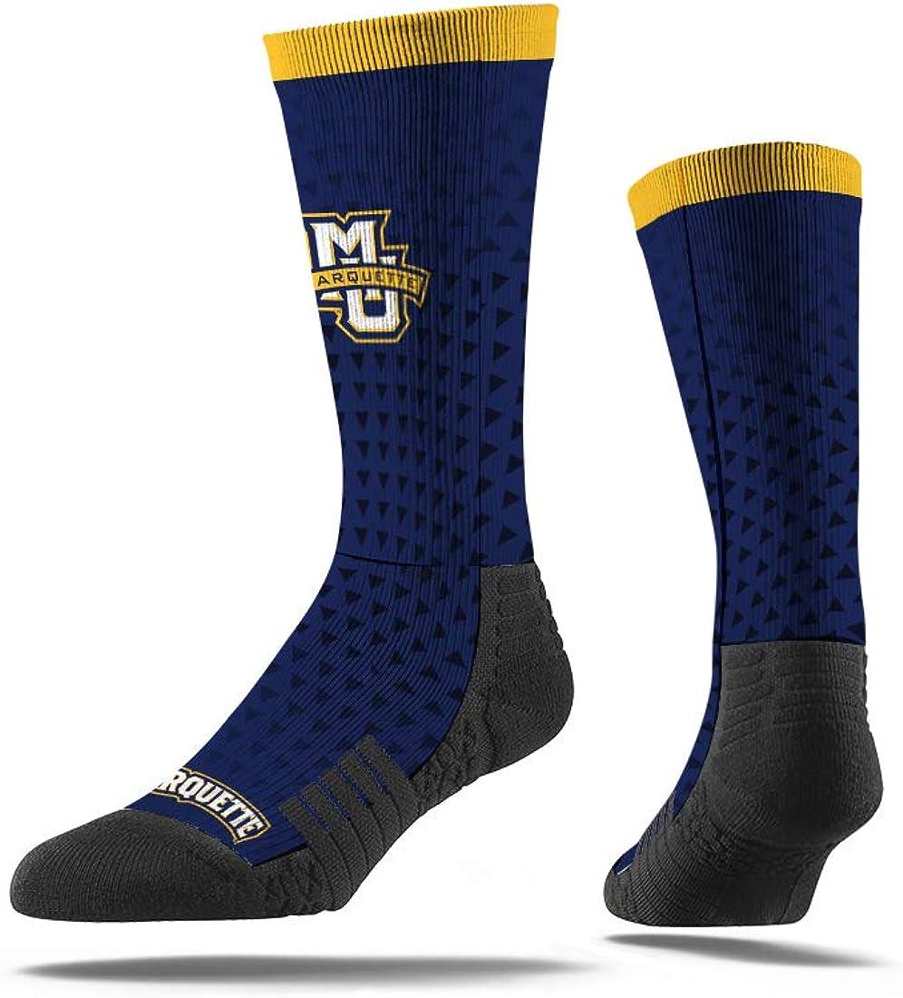 Marquette Golden Eagles Youth Strideline Logo Socks