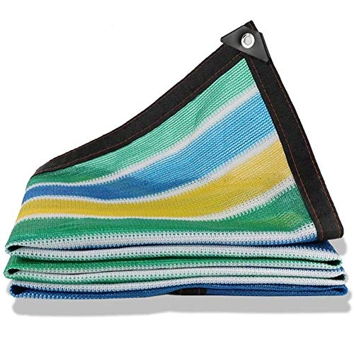 Shade Net mit über 90% Sonnenschutz Rate, gebraucht im Gewächshaus, Dach, Glashaus, Terrasse, rechteckig Sun Ineinander greifen (Size : 6x7Meter)
