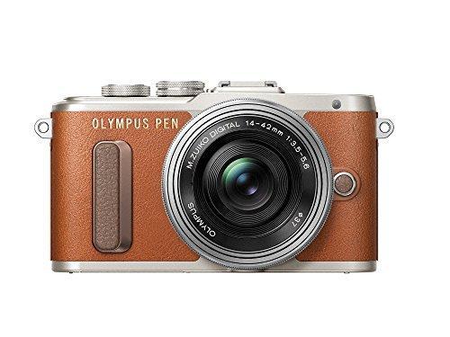 OLYMPUS ミラーレス一眼 E-PL8 レンズキット ブラウン