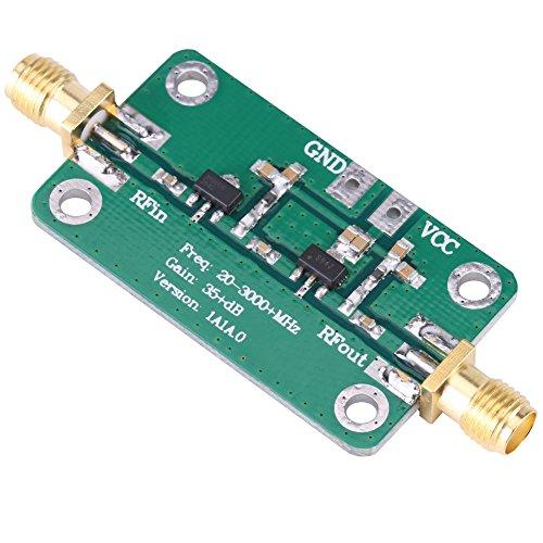 20-3000 MHz Breitband 35 dB High Gain LNA Geräuscharmes RF-Signalverstärker-Modul Amateurfunk für Kurzwelle FM TV Audio WiFi GPS