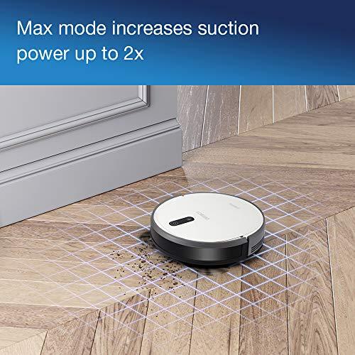 ECOVACS Robotics DEEBOT 710 Saugroboter (hohe Reinigungsleistung, systematische Navigation, reinigt alle Hartböden und Teppiche) weiß - 5