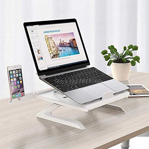 LIPENLI Laptop Stand 9 ángulos Ajustables de Escritorio Permanente Lapdesk Smartphone/Soporte Vertical del Cuaderno por Cuaderno de hasta 17 ''