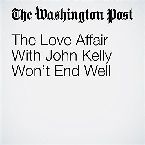 The Love Affair With John Kelly Won't End Well copertina