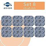 8 électrodes 45x45 mm pour électrostimulateurs BEURER SANITAS - électrostimulation tens ems
