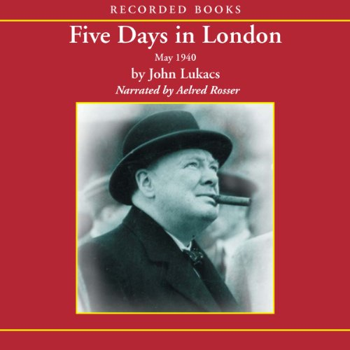 Five Days in London audiobook cover art