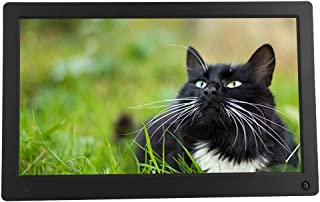Body Induction Digital Photo Frame, Photo Frame Touch Screen 15.6 inch 1920X1080 Resolution Electronic Album with MP3/MP4/...