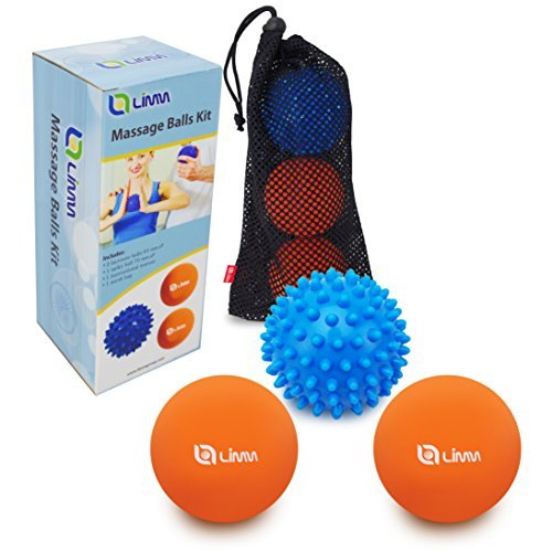 Best Review Of Limm Therapy Massage Ball Set - Lacrosse & Spiky Combo - 2 2.5 inches & 1 2.8 inches ...