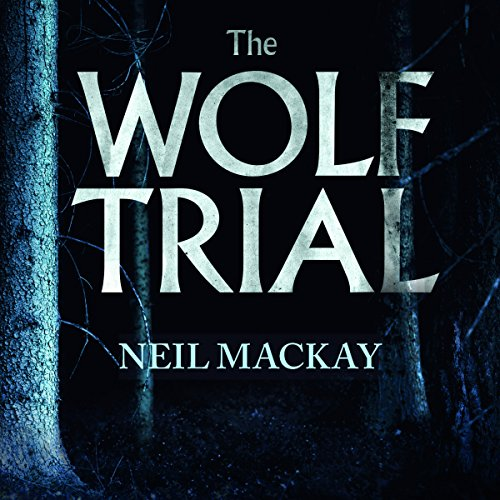 The Wolf Trial audiobook cover art