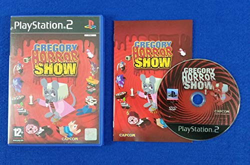 PS2 Gregory Horror Show PAL UK EXCLUSIVE (PAL Console or Region Converter needed) (Sony Playstation 2) Survival Horror Capcom