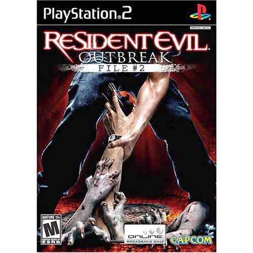 Capcom Resident Evil Outbreak File 2, PS2