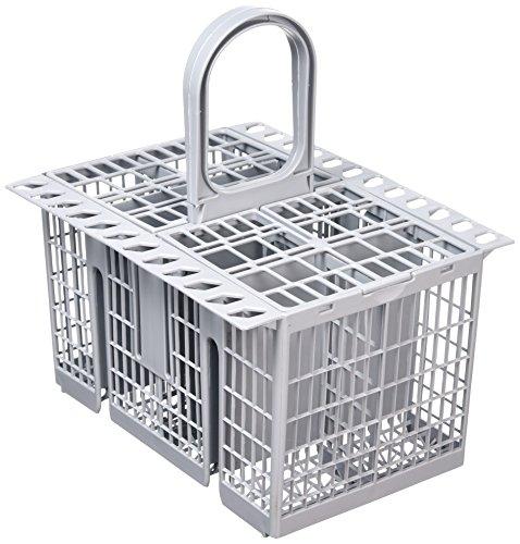 Cubertero Hotpoint para lavavajillas, color gris