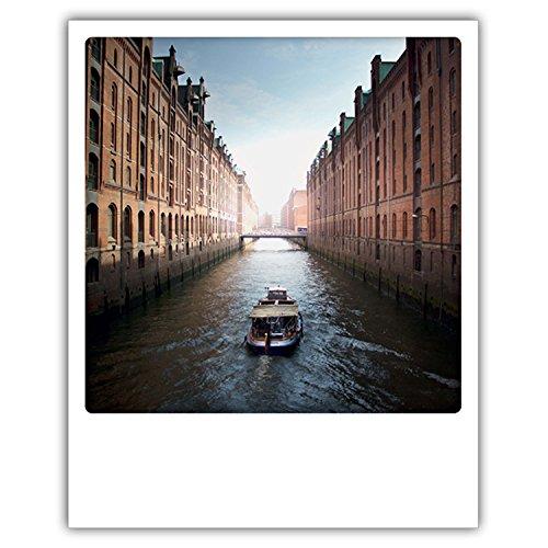 Pickmotion PolaCards Hamburgo - Postales Polaroid de alta calidad con estilo retro Canal grande