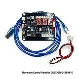 NO LOGO LT-Tool, 1 Juego de 3 Ejes Controlador Junta GRBL Controlador USB Talla de la Tarjeta TTL PWM for CNC Máquina de Grabado láser 3018/2418/1610 (tamaño : A)