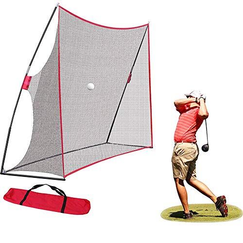 VEVOR Red de Entrenamiento para B/éisbol 2.1 x 2.1m Red de Entrenamiento de Bateo Port/átil 2.1 x 2.1m Material Entrenamiento Red Beisbol Red Bateo Beisbol Red de Beisbol Forma L Rojo