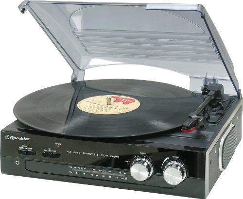 Roadstar TTR-8633 Platine tourne Disque avec Radio Analogique