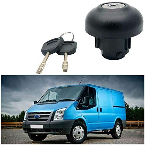 Abschließbarer Tankdeckel Zubehör Tank Abdeckung Benzin mit Schlüssel Werkzeuge Ersatz 1715043 Anti-diebstahl Haltbar Auto Gas für Ford Transit MK7