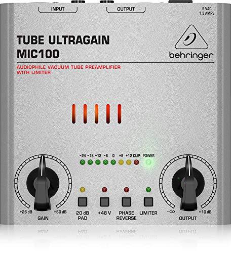 Behringer TUBE ULTRAGAIN MIC100 Vorverstärker
