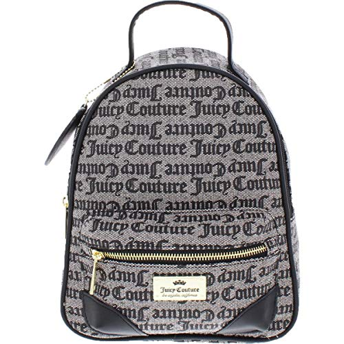 Juicy Couture Gothic Status Backpack Black/Beige One Size