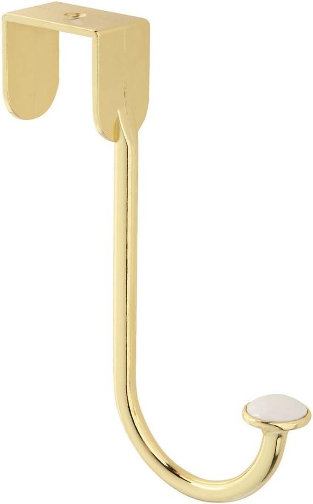National Hardware N331-454 V168 NEW before selling ☆ Over Brass in Door Popular popular Hook