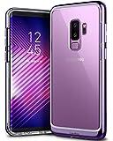 Caseology Skyfall for Galaxy S9 Plus Case (2018) - Clear Back & Slim Fit - Metallic Purple