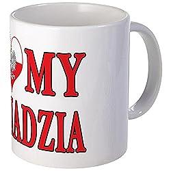 CafePress I Heart My Dziadzia Mug Unique Coffee Mug, Coffee Cup