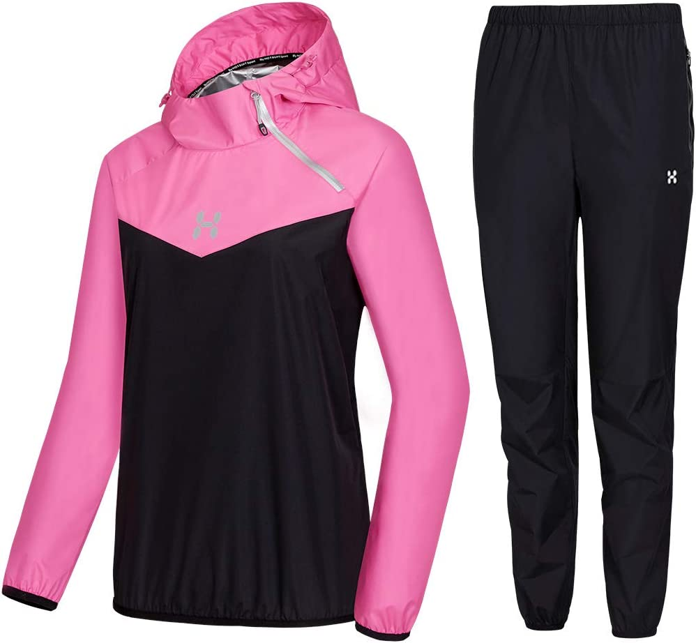 HOTSUIT Sauna Suit Women Weight Loss Boxing Gym Sweat Suits Workout Jacket : Sports & Outdoors