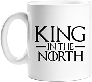 King in the North White Coffee Mug
