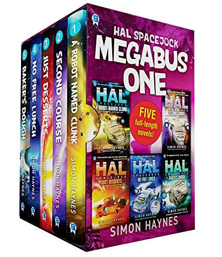Hal Spacejock Megabus One: Books 1-5 in the Hal Spacejock series plus two short stories (Hal Megabus Book 1) (English Edition)