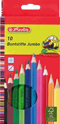 Herlitz 10795276Bleistift Farbe–Buntstifte (Holz, mehrfarbig)