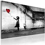 murando - Bilder Banksy Girl with red Balloon 60x40 cm