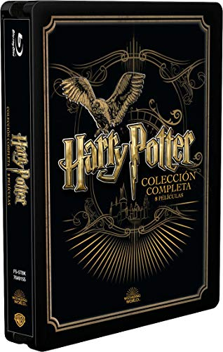 Pack Harry Potter Colección Completa - Edición Golden Steelbook [Blu-ray]