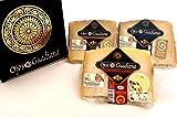 Pack de cuñas Queso D.O. Manchego Ojos del Guadiana - SEMICURADO, CURADO Y ETIQUETA NEGRA - Trío...