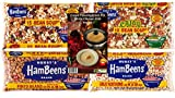 Bean Soup Variety Pack of 4 - Hursts Hambeens 15 Bean Soup, Cajun 15 Bean Soup, Great Northern...