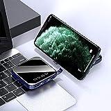 Chargeur Portable, 10000mAh Banque de Puissance Ultra Haute capacité de Batterie Externe Sortie 2 USB avec Auto-IC, téléphone USB Chargeur Compatible avec Smartphone, tablettes et Plus,B