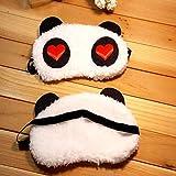 Panda de diseño Gafas para dormir bien Descansar Ojos Venta caliente Cubierta de protección de seguridad