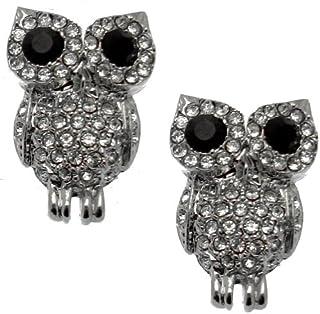 10 X pequeño Tono Plata Búho Encantos Para Colgantes O Earrings joyas Resultados