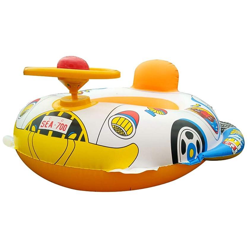 する必要がある誰でも行進プール遊び プールトイ ステアリングホイール 浮き輪 ベビー 幼児 水泳フロート シートサークル