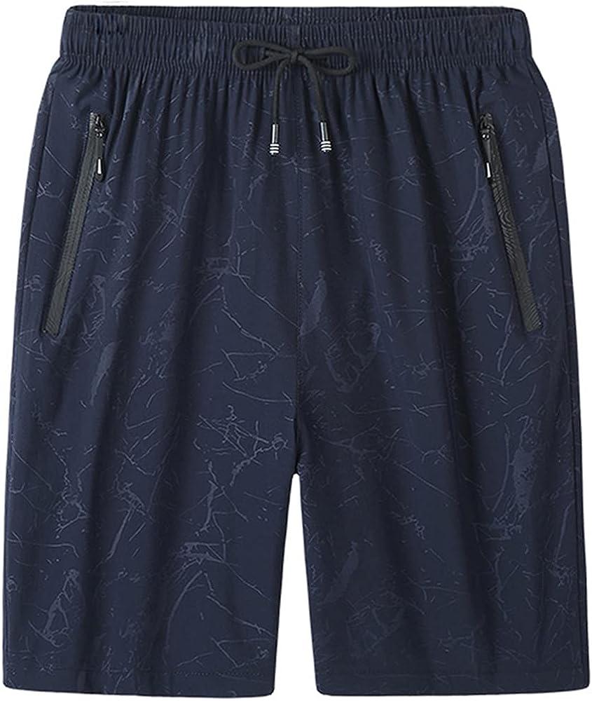 NP Men`s Quick Shorts Summer Sportswear Jogger Beach Short Pants Male Gyms Shorts