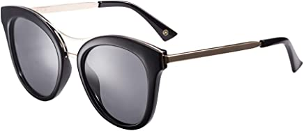 Trendy Sunglasses For Women Driving Retro Accessories Case UV400 Predection Metal Frame Great For Driving Or City Walking