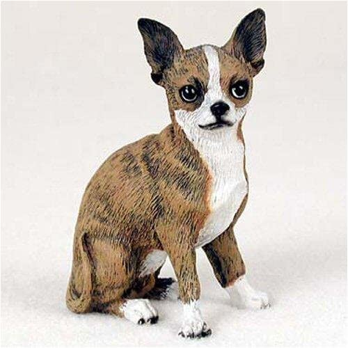 Ebros Feisty Taco Adorable Shorthair Deer Head Chihuahua Dog Flipping The Bird Figurine 7 High Gangster Rude Puppy Pet Pal Dogs Chihuahuas Collectible Resin Decor