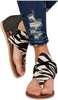Paradear Mujer Sandalias Animal & Leopard Print Shoes